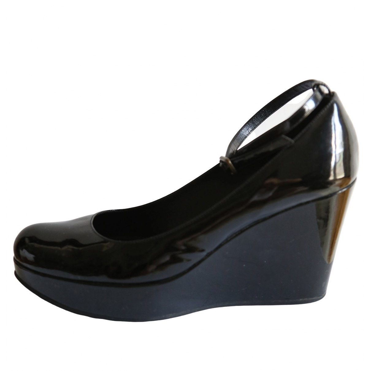 Marc By Marc Jacobs \N Black Patent leather Sandals for Women 38 EU