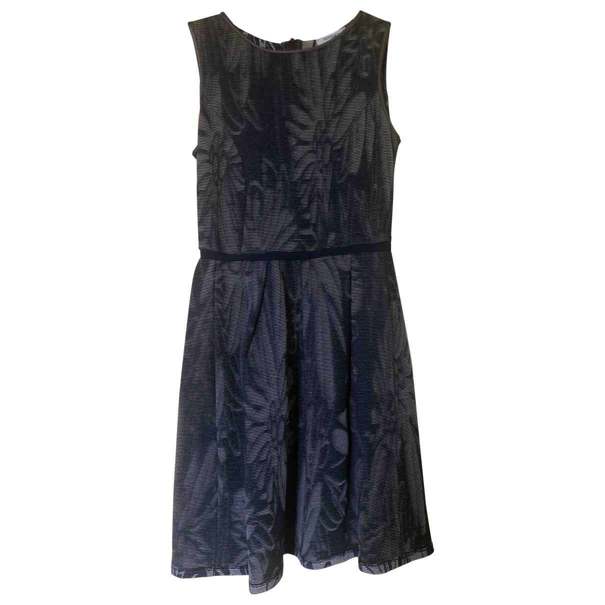Max & Co - Robe   pour femme en coton - elasthane - bleu