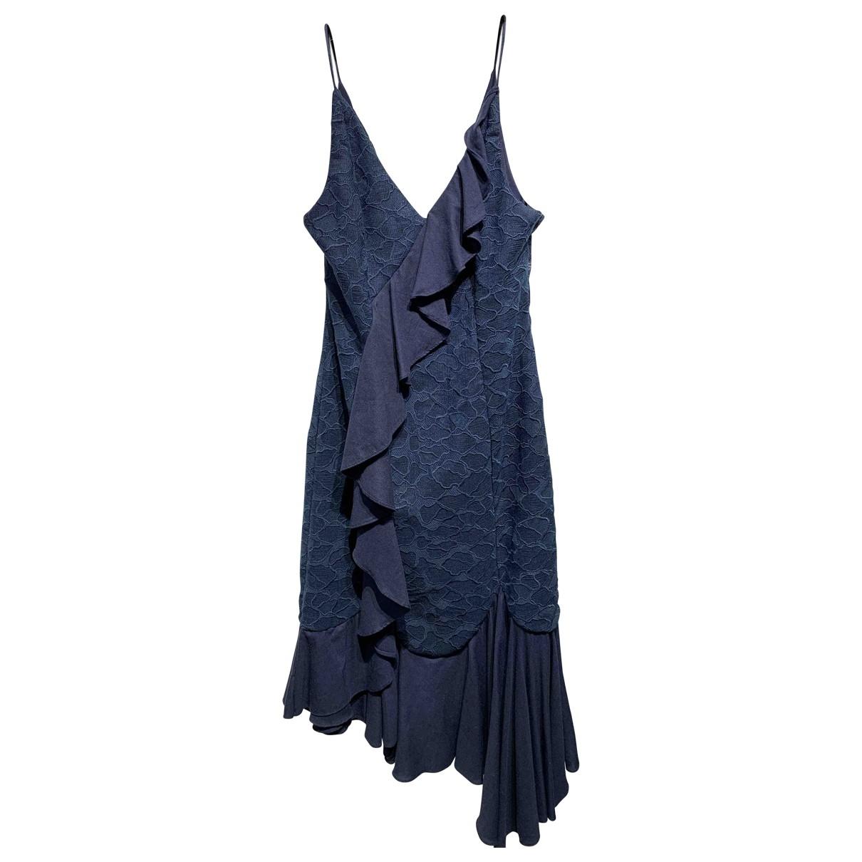 C/meo \N Kleid in  Marine Polyester