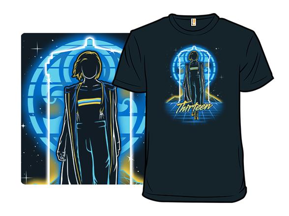 Retro Thirteenth Doctor T Shirt