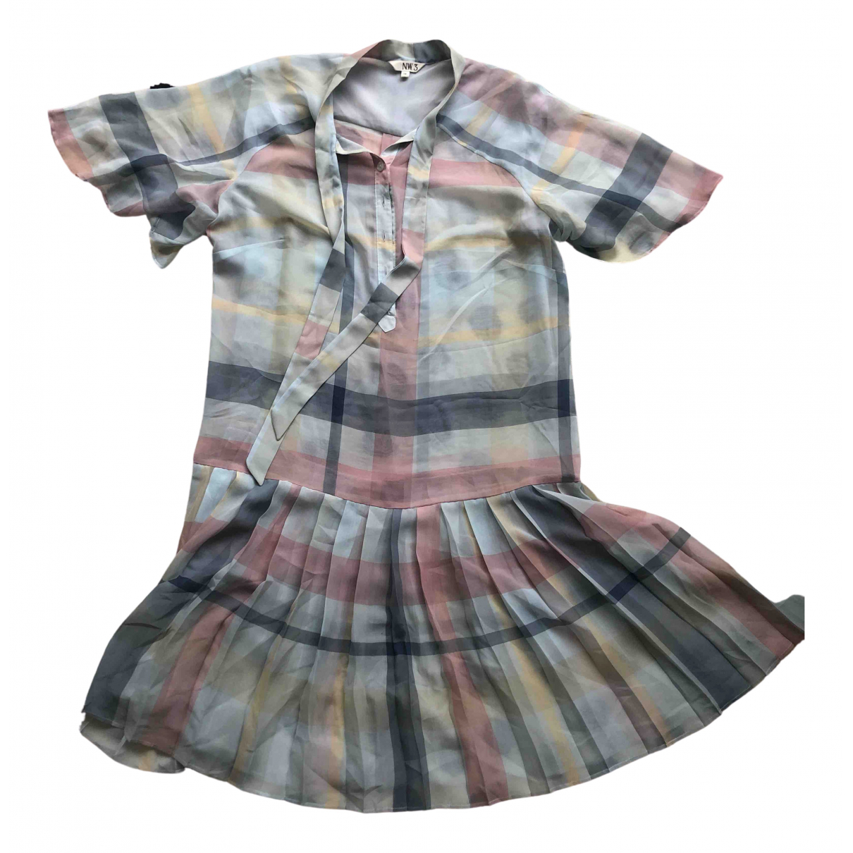 Hobbs N.w.3 \N Kleid in  Blau Polyester