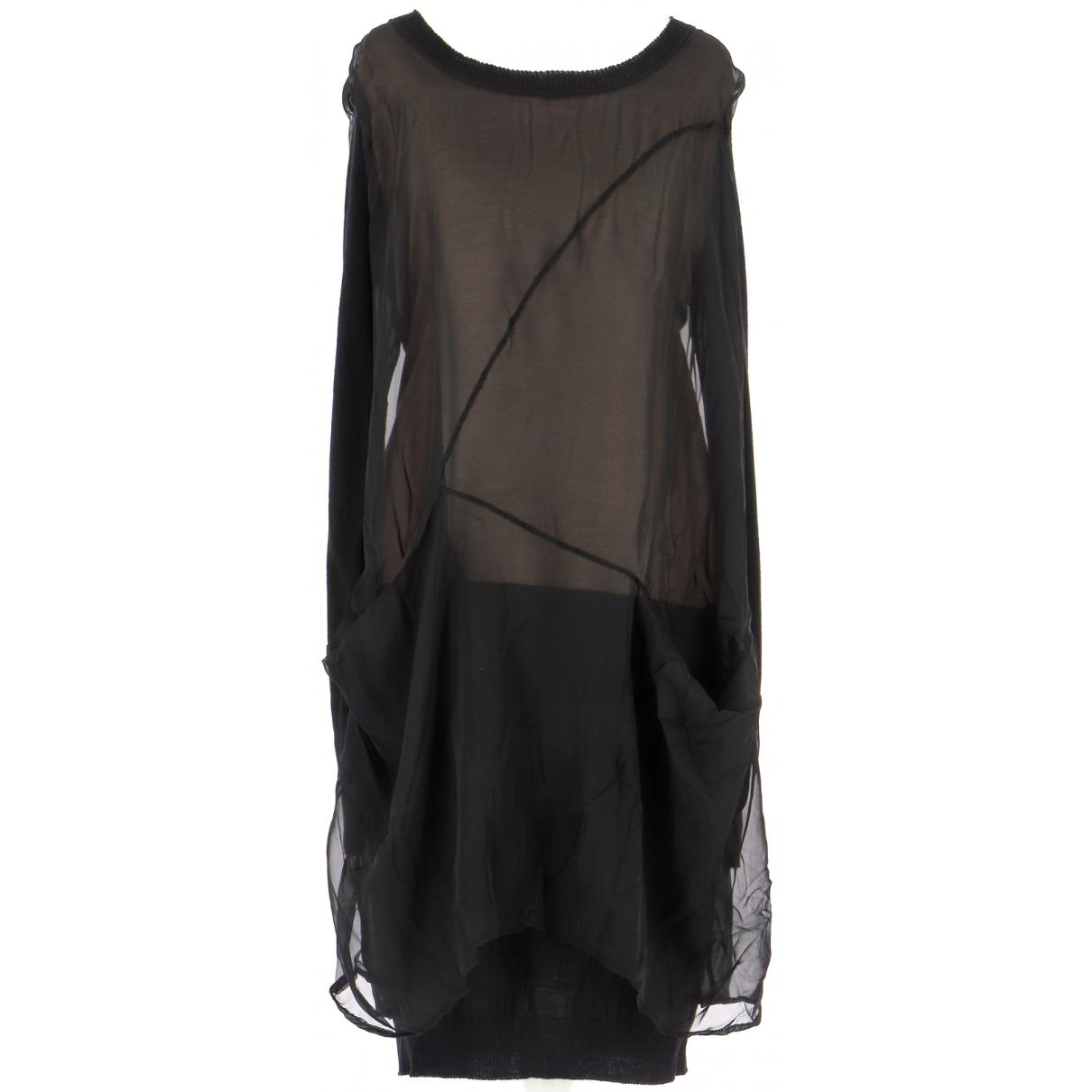 Autre Marque \N Black Wool dress for Women 38 FR