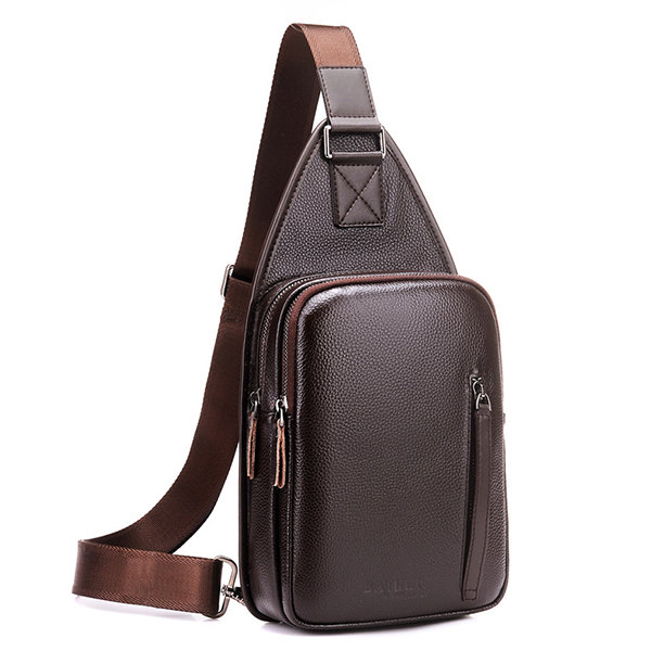 Large Capacity Business Casual Chest Bag Sling Bag Crossbody Bag For Men
