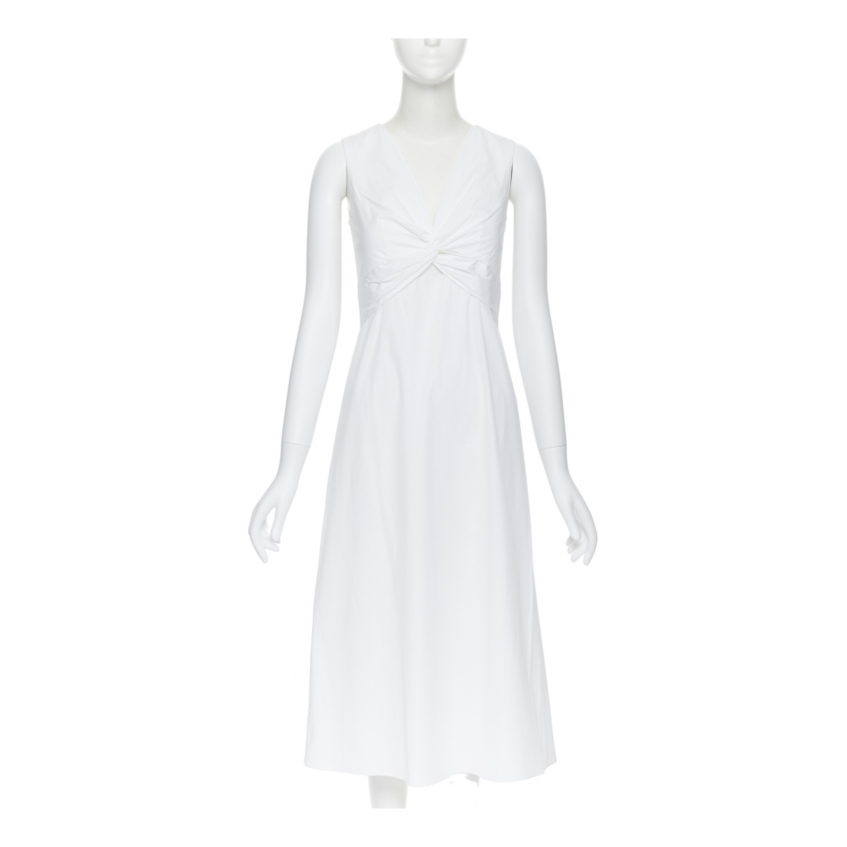 The Row \N White Cotton dress for Women 1 US
