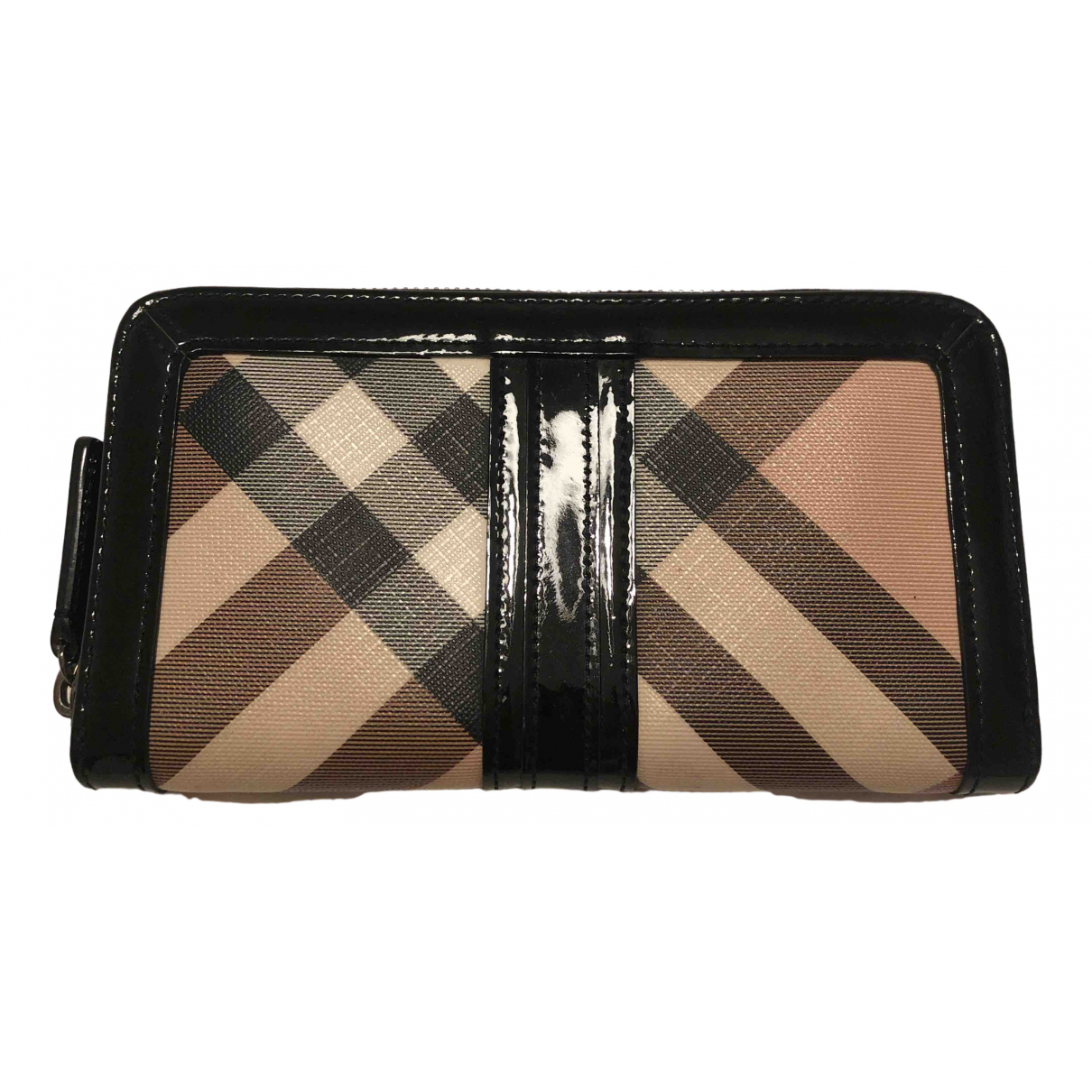 Burberry \N Beige Cloth wallet for Women \N