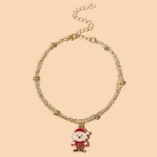 Christmas Santa Claus Chain Bracelet