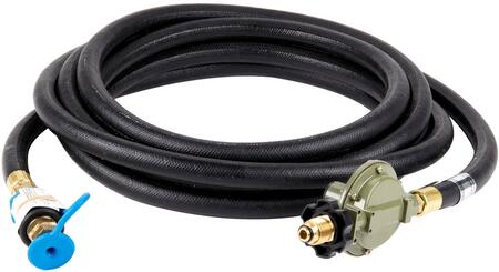 ZCV-5131 25' Liquid Propane Hose and Regulator Assembly for PCB  RPS Carts and Single Inlet LP