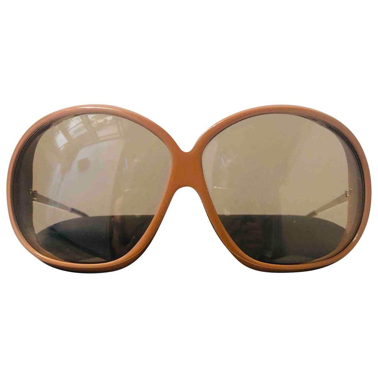 Marni \N Sonnenbrillen in  Beige Kunststoff