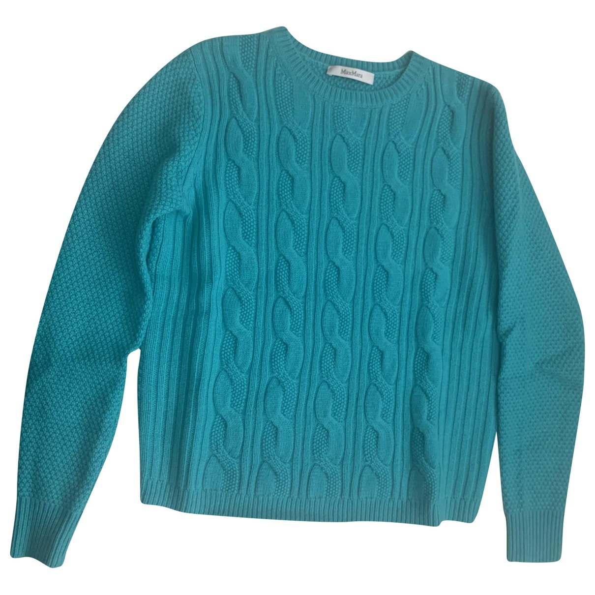 Max Mara \N Pullover in  Tuerkis Wolle
