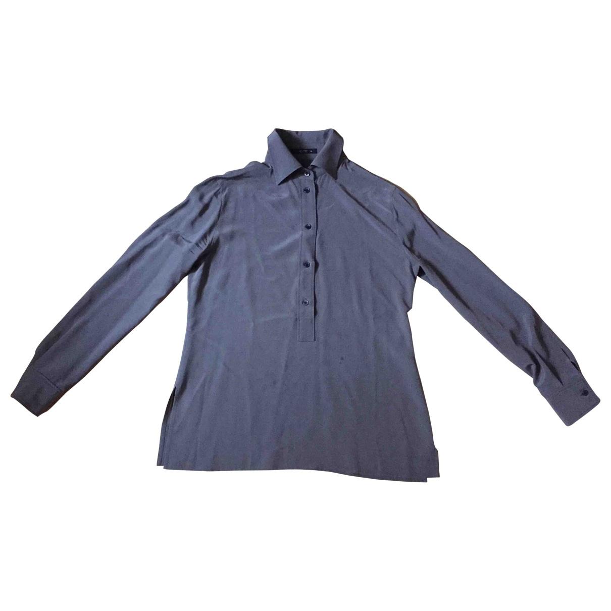 Etro \N Grey Silk  top for Women 42 IT