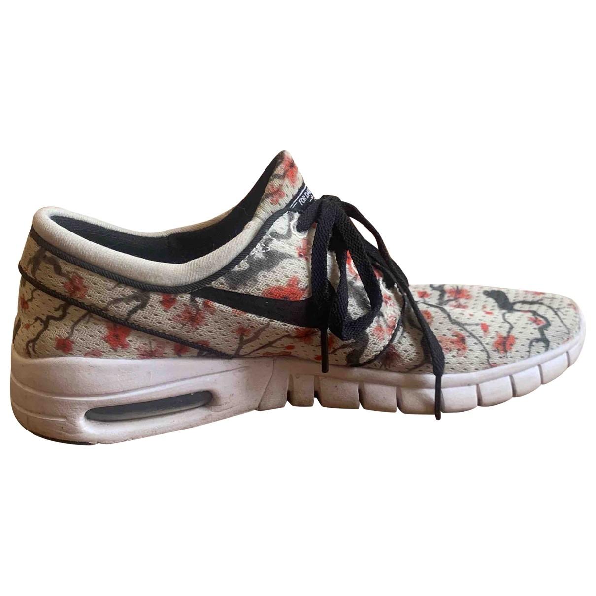 Nike - Baskets Air Max  pour femme en toile - blanc