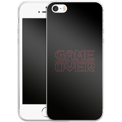Apple iPhone 5 Silikon Handyhuelle - The Game Over von caseable Designs