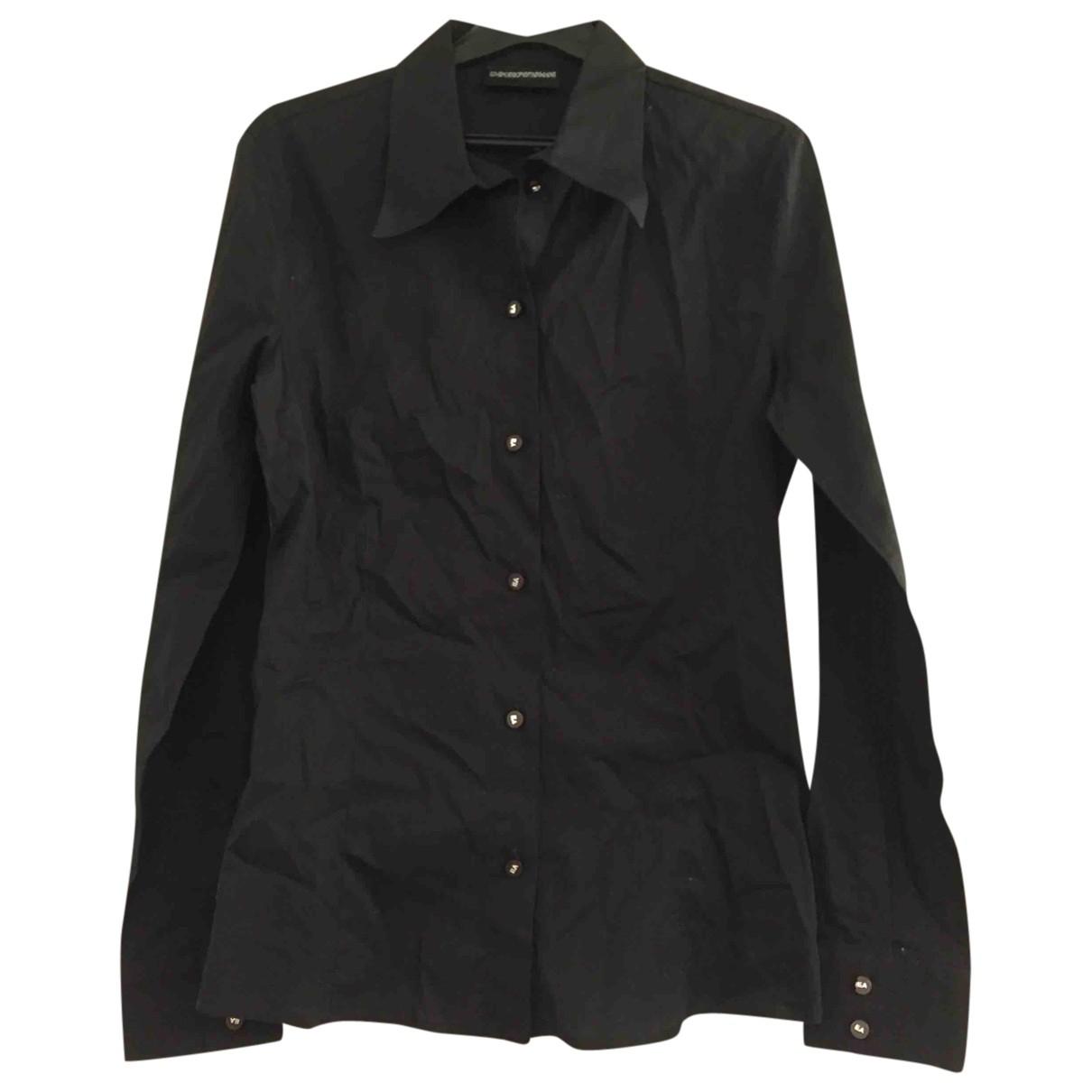 Emporio Armani \N Black Cotton  top for Women 40 IT