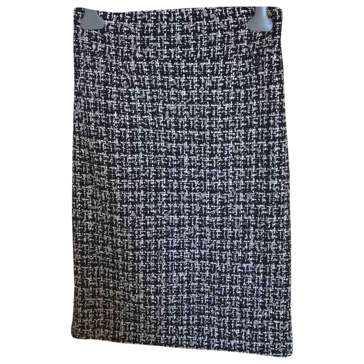 Chanel \N Black Wool skirt for Women 44 FR