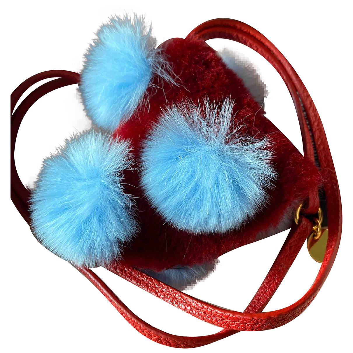Miu Miu - Petite maroquinerie   pour femme en cuir - rouge