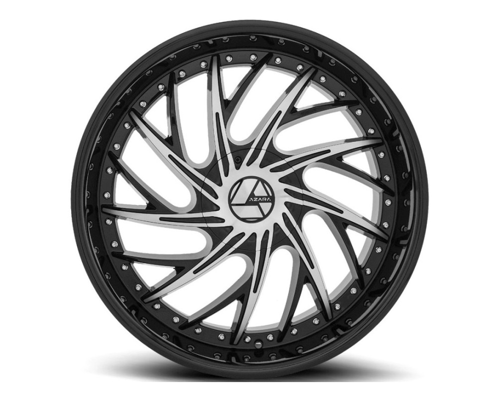 Azara 516 Wheel 20x8.5 5x110 5x114.3 35mm Gloss Black Machined