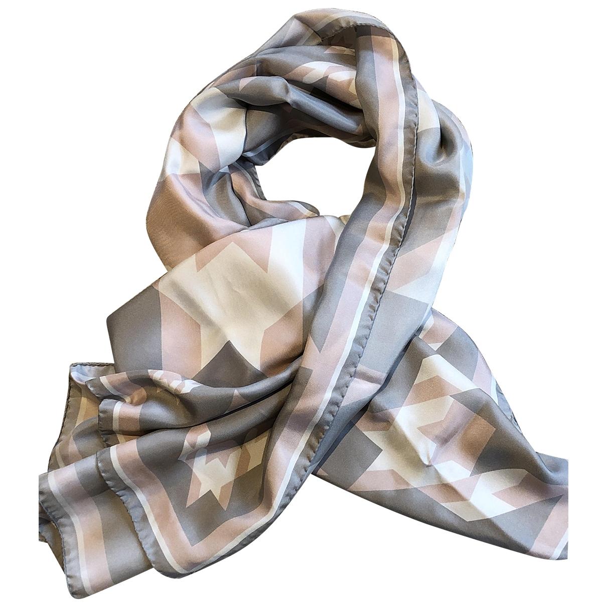 Boss - Foulard   pour femme en soie - multicolore