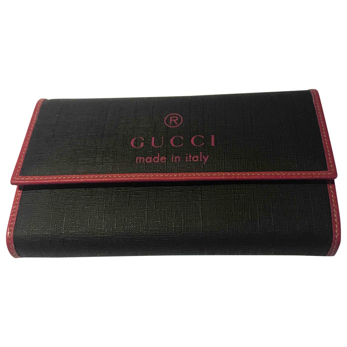 Gucci - Portefeuille Ophidia pour femme en cuir - noir