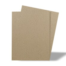 Gray Chipboard - 8-1/2 X 11 - .022 thick - Quantity: 480 - Sheets and Pads - Color : Gray/gray by Paper Mart