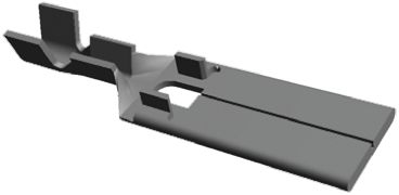 TE Connectivity , FASTON .250 Crimp Tab Terminal, 0.3mm² to 0.5mm², 22AWG to 20AWG, 6 x 0.8mm, Tin (50)