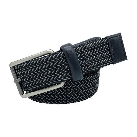 Stafford Mixed Color Elastic Belt, X-large , Black