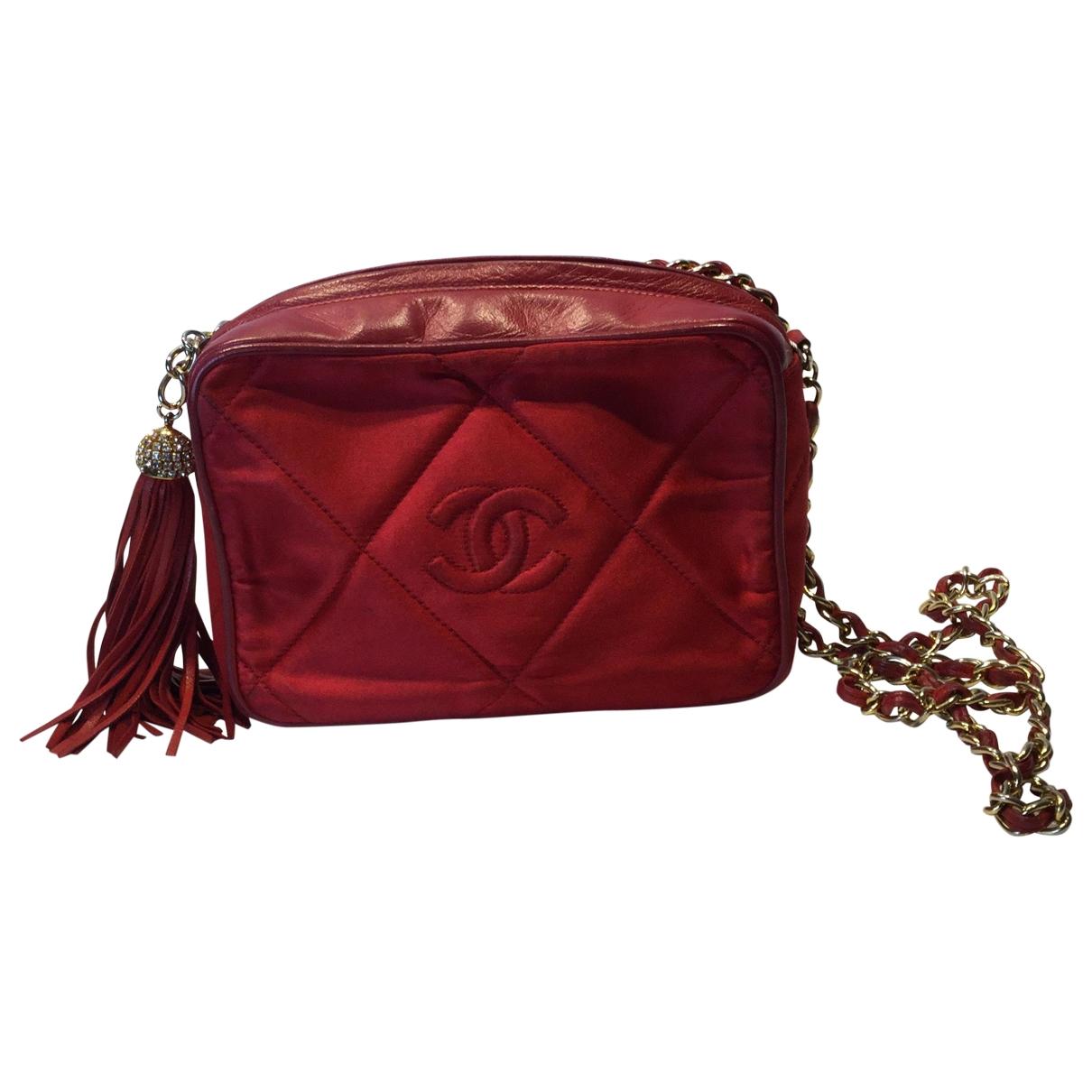 Chanel \N Red Silk handbag for Women \N