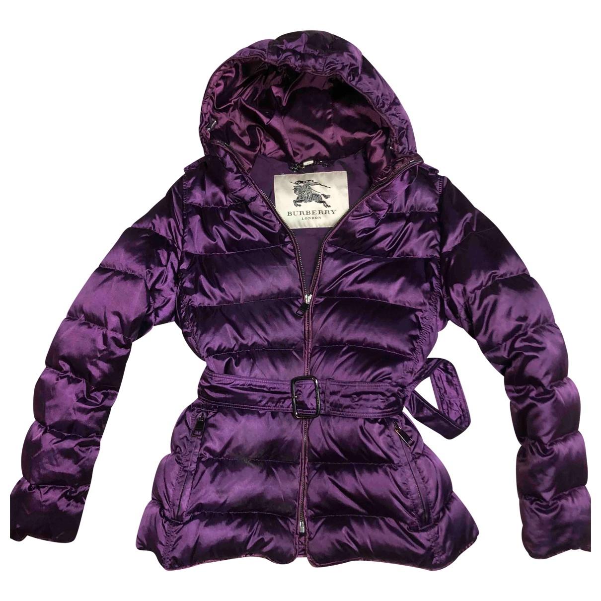 Burberry \N Purple coat for Women M International