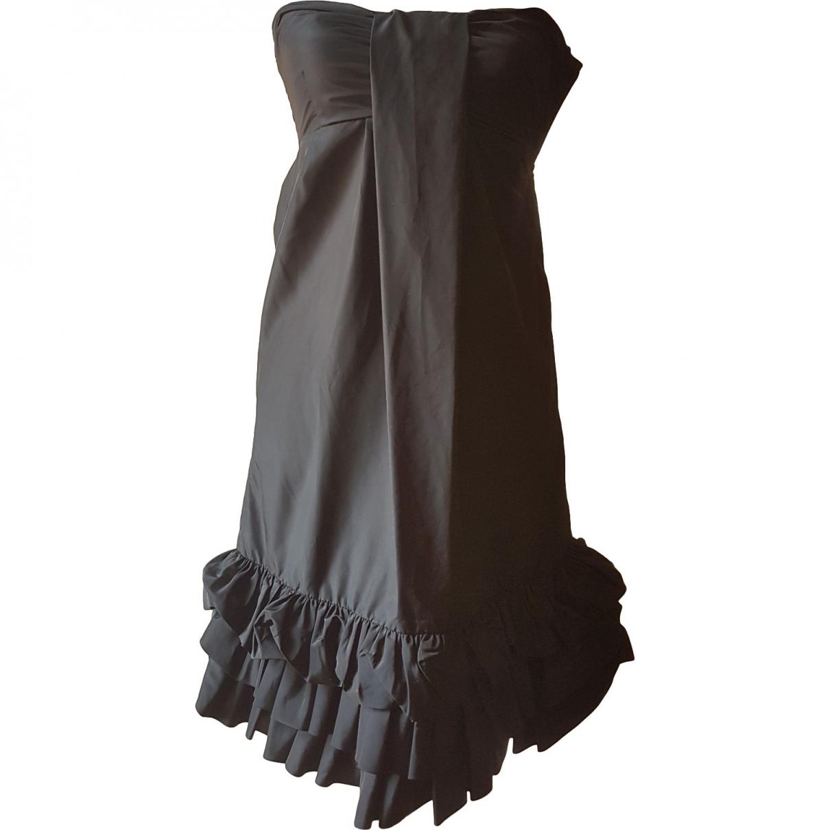 American Retro - Robe   pour femme - noir