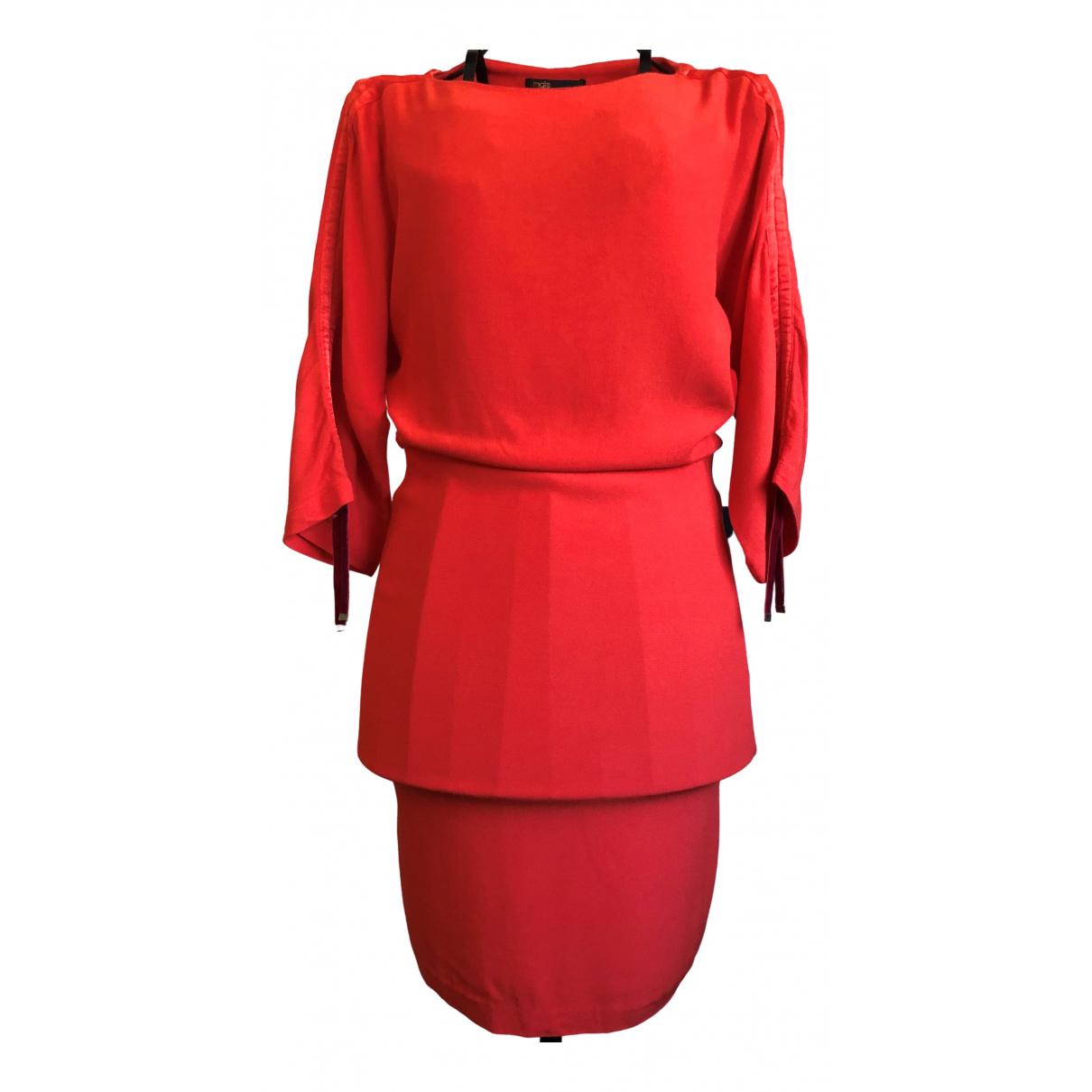 Maje \N Orange dress for Women 2 0-5