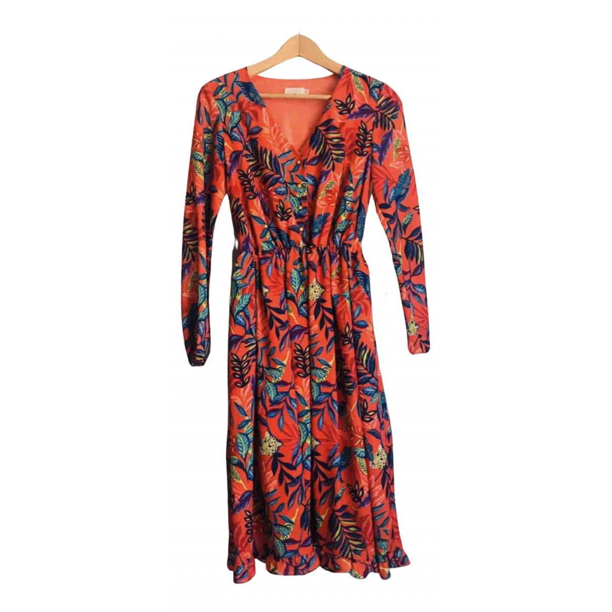 Coosy - Robe   pour femme - orange