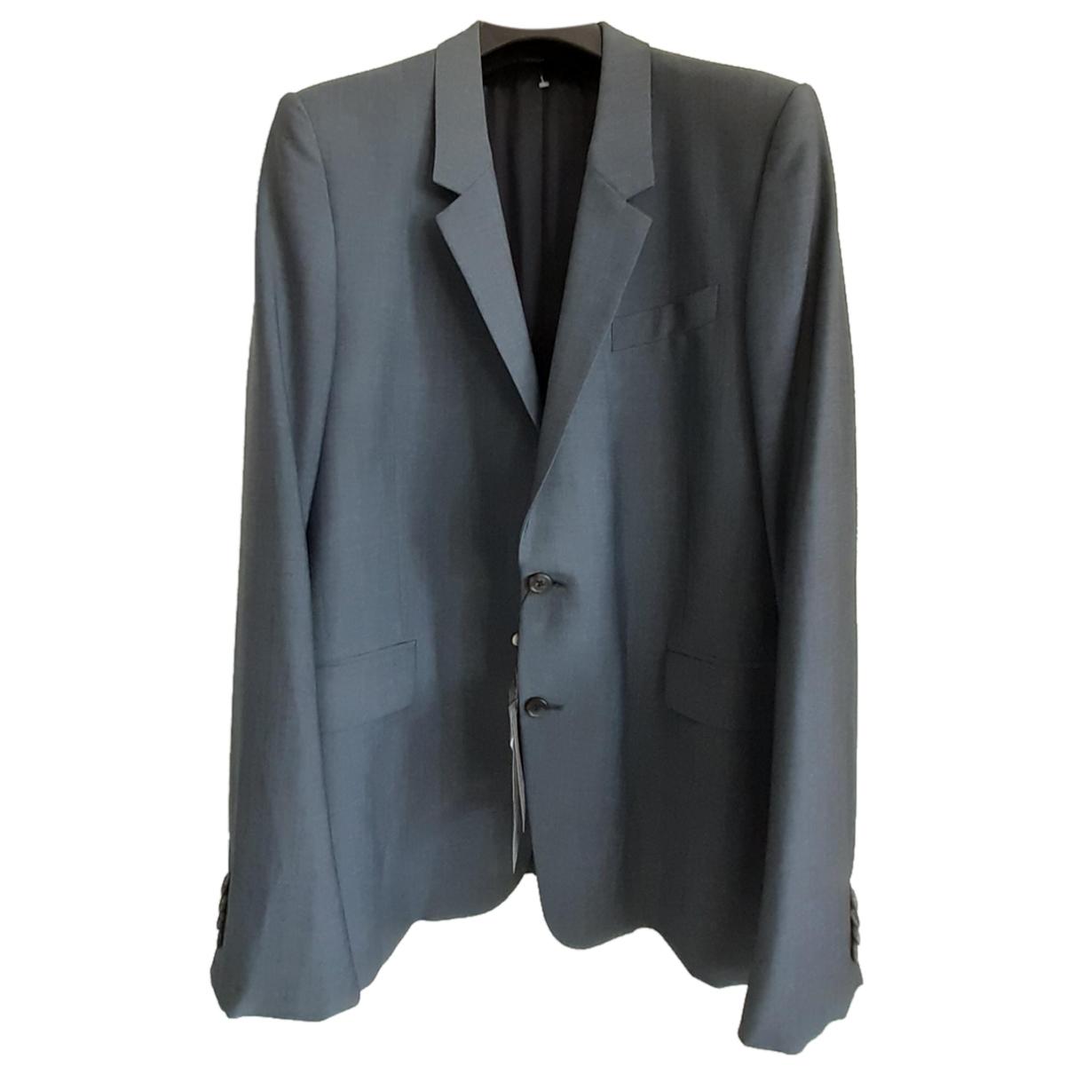 Alexander Mcqueen \N Grey Wool jacket  for Men 54 IT