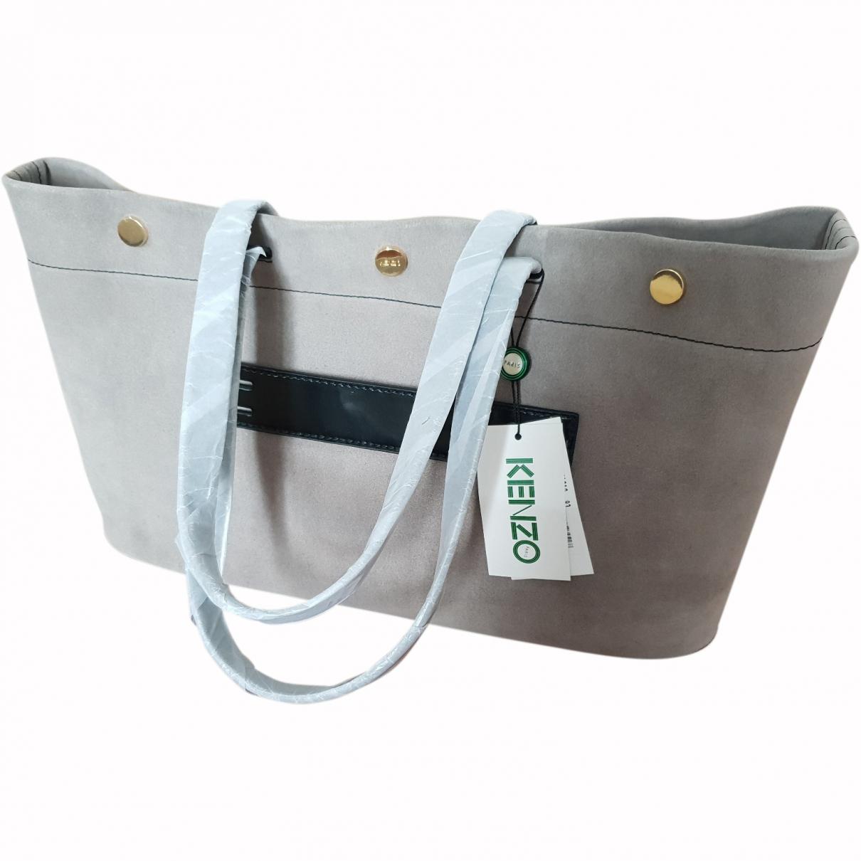 Kenzo \N Grey Suede handbag for Women \N