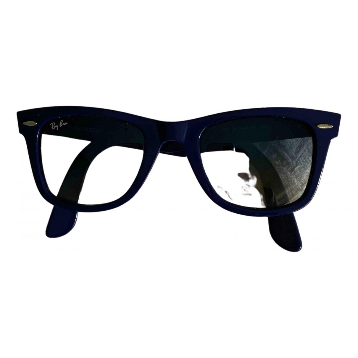 Ray-ban - Lunettes New Wayfarer pour femme - bleu