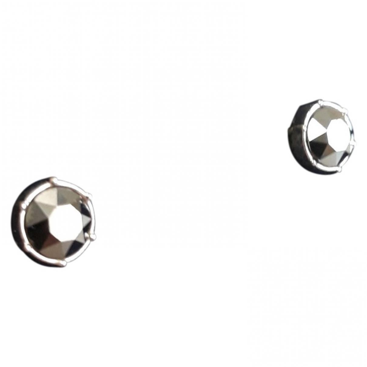 Swarovski \N Anthracite Crystal Earrings for Women \N