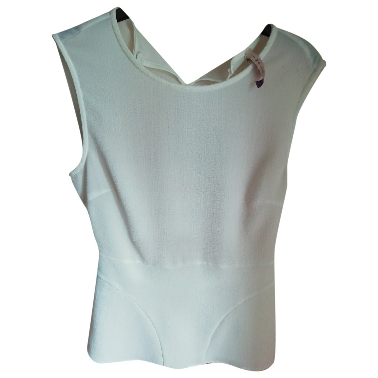 Impérial \N White  top for Women XS International