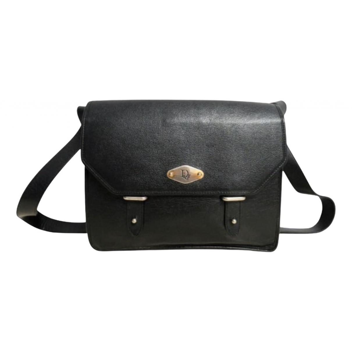 Dior \N Handtasche in  Schwarz Leder