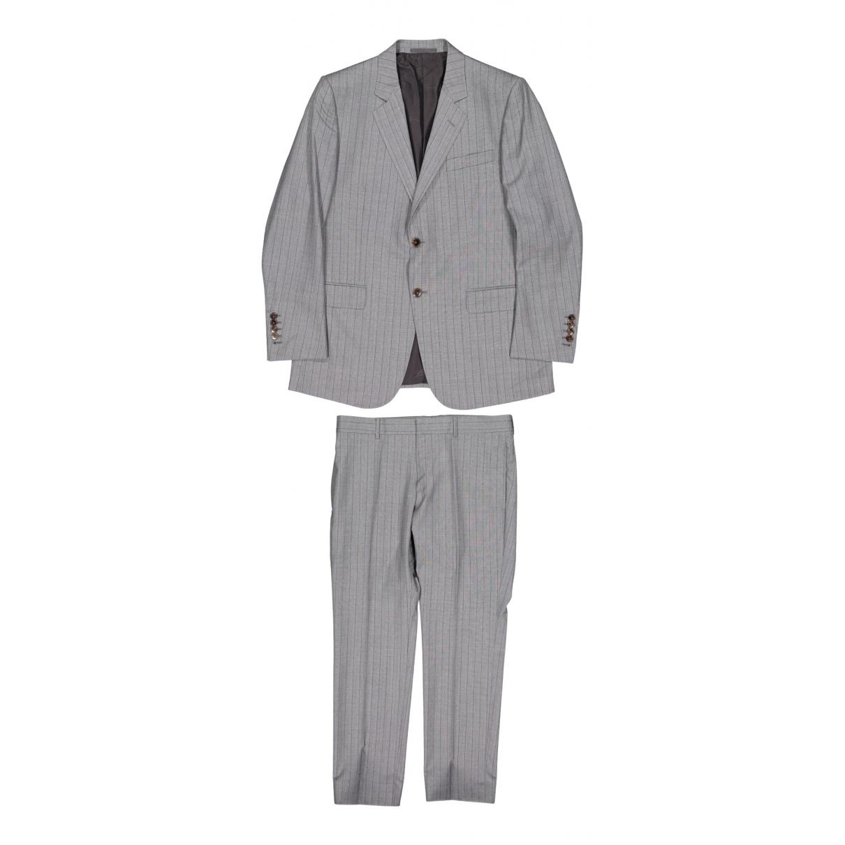 Gucci \N Anzuege in  Grau Wolle