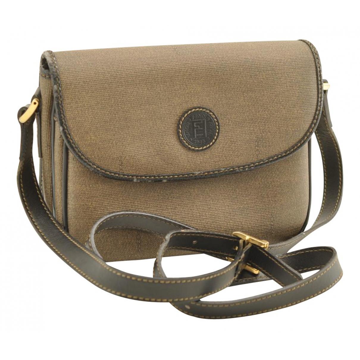 Fendi N Khaki Cloth handbag for Women N