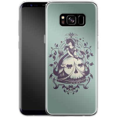 Samsung Galaxy S8 Silikon Handyhuelle - Mrs Death von Enkel Dika