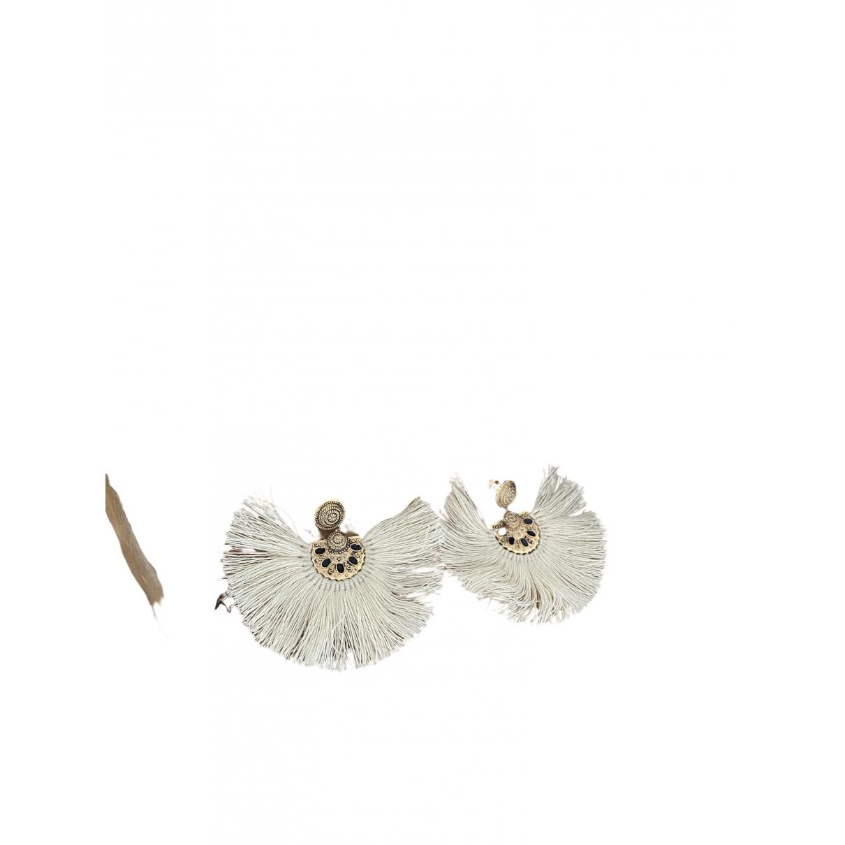 Sézane Spring Summer 2020 Gold Silver Earrings for Women \N
