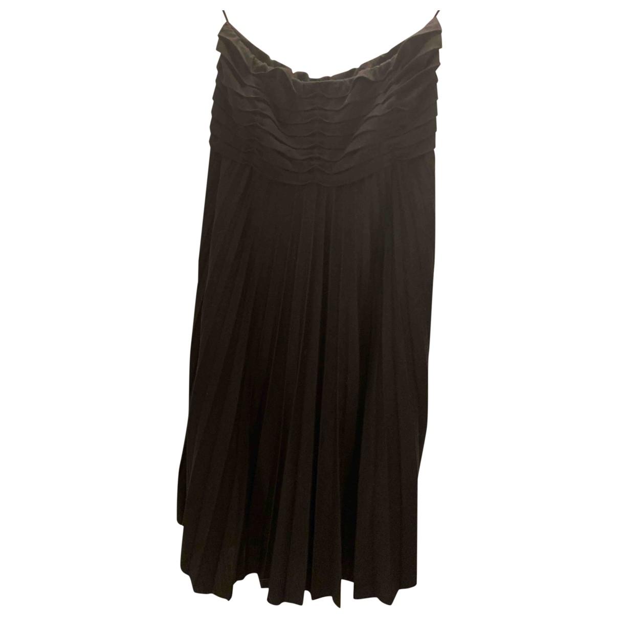 Maje \N Kleid in  Schwarz Wolle