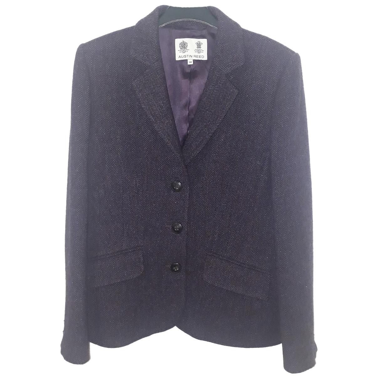 - Veste   pour femme en laine - violet