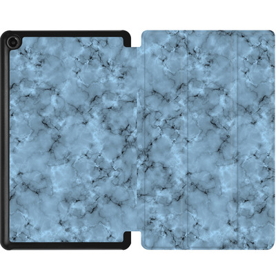 Amazon Fire 7 (2017) Tablet Smart Case - Blue Marble von caseable Designs