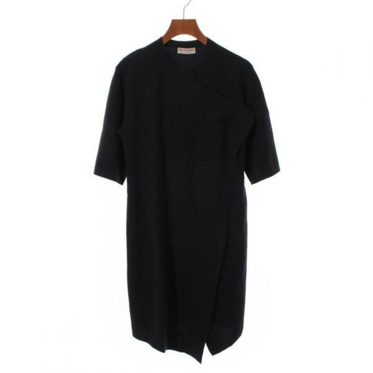 Balenciaga \N Kleid in  Blau Wolle