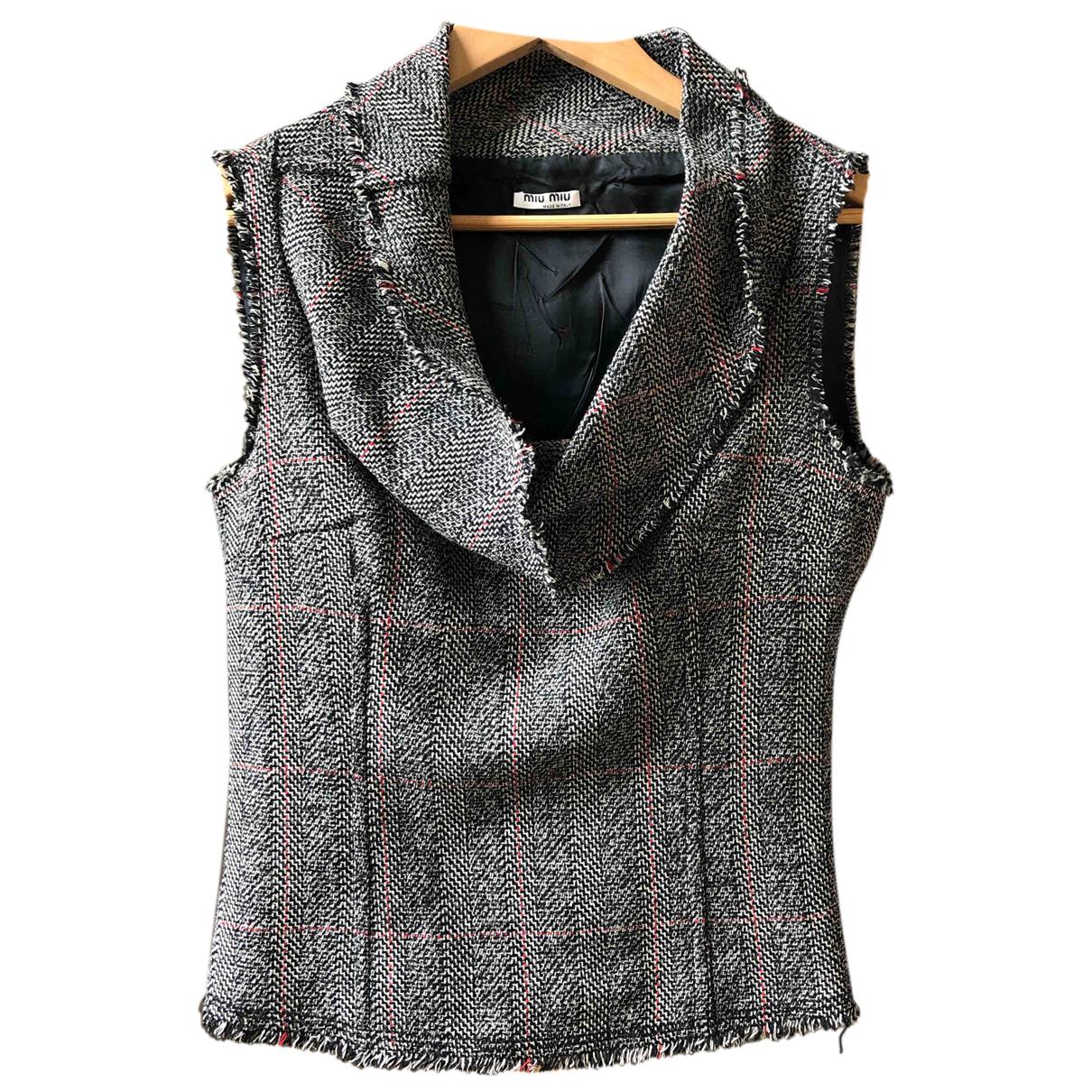 Miu Miu N Multicolour Wool  top for Women 42 IT