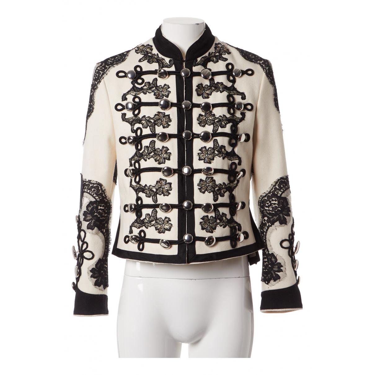 Dolce & Gabbana - Veste   pour femme en laine - multicolore