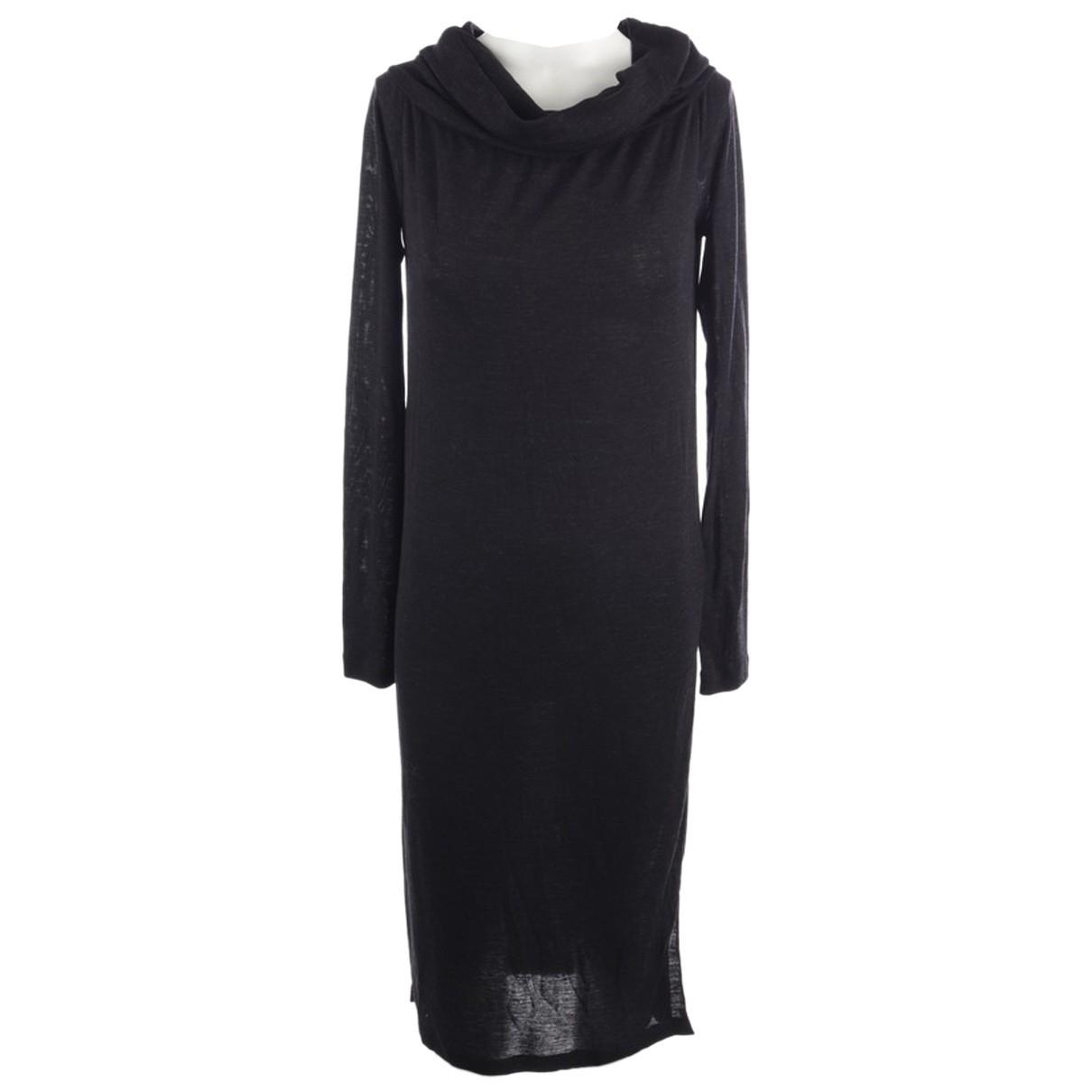 Brunello Cucinelli - Robe   pour femme en laine - noir