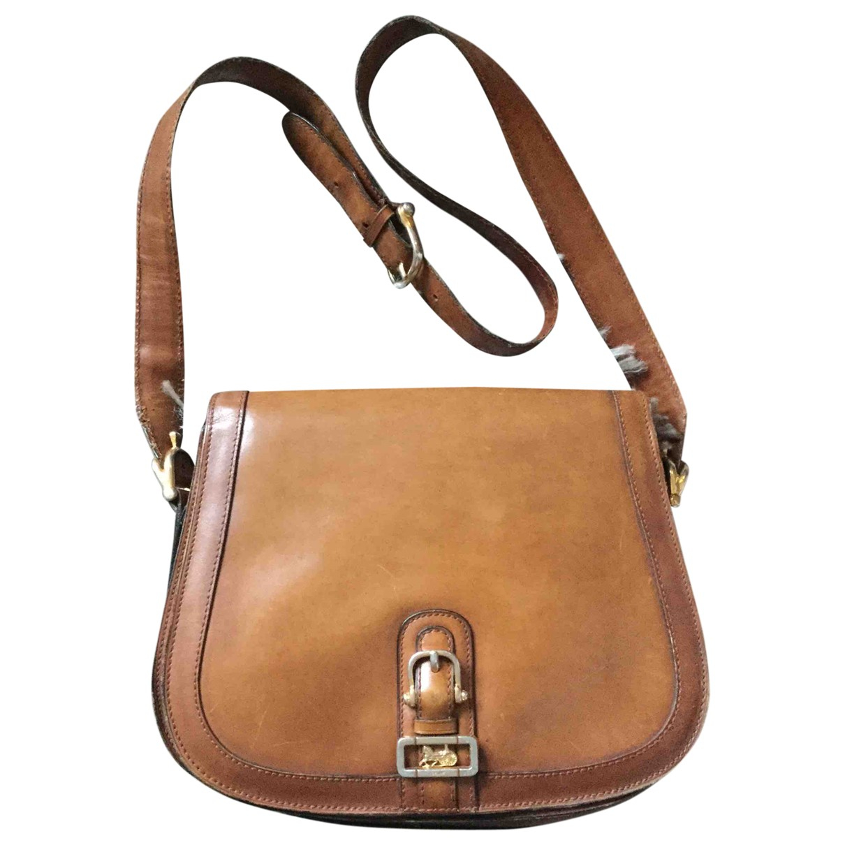 Celine \N Brown Leather handbag for Women \N