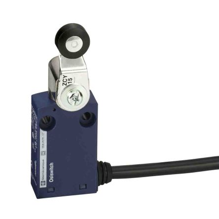 Telemecanique Sensors , Snap Action Limit Switch - Plastic, 1NC/1NO, Roller Lever, 240V, IP65
