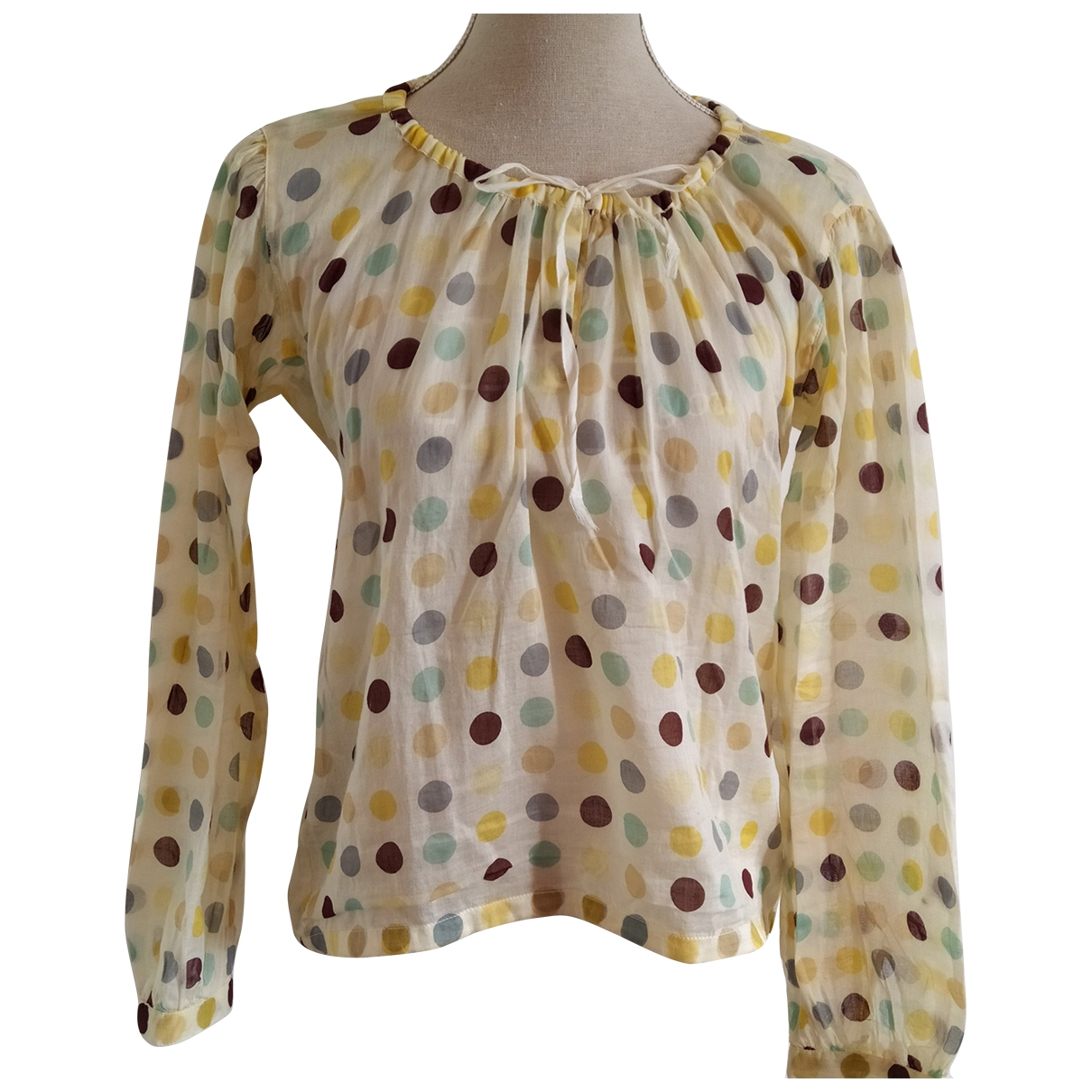 Prada \N Multicolour Cotton  top for Women XL International